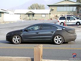 Spy Photos: První foto čtyřdveřového kupé Volkswagen Passat (další fotografie)