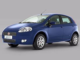 Brazilský Fiat Grande Punto: spalovač etanolu