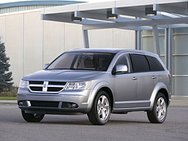 Dodge Journey: nový crossover se představí na letošním IAA