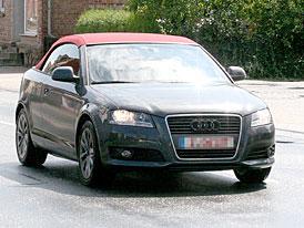 Spy Photos: nové Audi A3 cabrio - další maďarské Audi se ukázalo na ulici