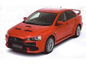 Mitsubishi Evolution X: První (ne)oficiální fotky