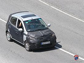 Spy Photos: Hyundai i10 jako sourozenec Picanta