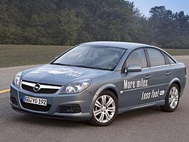 GM představil prototyp Opelu Vectra se zážehovým motorem 2,2 ECOTEC HCCI