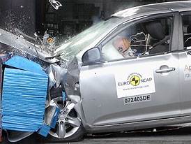Euro NCAP: Kia Cee'd má 5 hvězd (+ video)