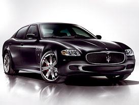Maserati: Quattroporte nahradí dva nové modely s americkou technikou