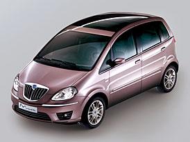 Lancia Musa Poltrona Frau: luxusní provedení kompaktního minivanu