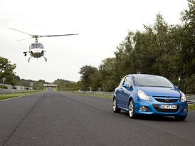 Opel: Corsa OPC stanovila nový třídní rekord Severní smyčky na Nürburgringu
