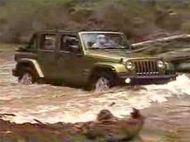 Video: Jeep Wrangler Unlimited – projede prakticky jakýkoliv terén
