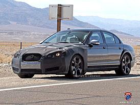 Spy Photos: Sportovní sedan Jaguar XF-R (Nové foto)
