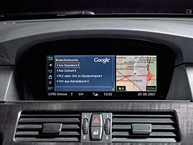Google Local Search se zabydluje v navigačním systému BMW