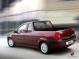 Spy Photos: Pickup a fastback budou další modely řady Dacia Logan