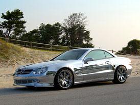 RENNtech Mercedes SL600: pořádná porce chrómu