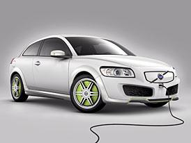Volvo C30 ReCharge: Elektromotor v každém kole