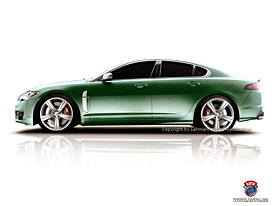 Spy Photos: Sportovní sedan Jaguar XF-R, kabriolet i kombi