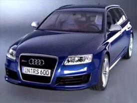 Video: Audi RS6 Avant – výkonné kombi v pohybu i staticky