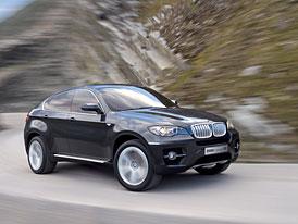 Frankfurt živě: BMW X6 zatím jako studie - první oficiální fotografie