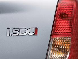 Frankfurt živě: turbodiesel 1.5 dCi s výkonem 85 koní pro Dacii Logan