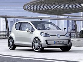 Frankfurt živě: Volkswagen up! – návrat ke koncepci s motorem vzadu