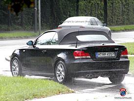 Spy Photos: BMW 1 Cabrio (nové fotografie)