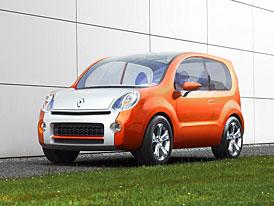 Frankfurt živě: Renault Kangoo Compact  - koncept pro volný čas