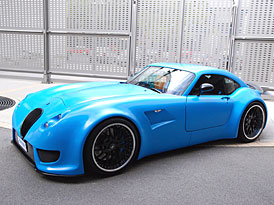 Frankfurt živě: Wiesmann GT MF5 – kupé s motorem z BMW M5 se představilo