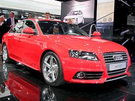 Frankfurt živě: Audi A4 - Ovoce sebevědomí (první dojmy)