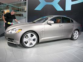 Frankfurt živě: Nový Jaguar XF (první dojmy)