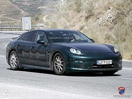 Porsche Panamera: Bezpe�nostn� syst�m vyst�elovac� kapoty dod� �esk� firma