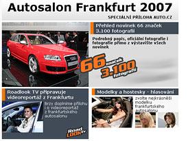 Autosalon Frankfurt 2007 – příloha magazínu AUTO.CZ