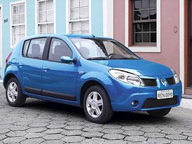 Renault Sandero – Dacia Logan pro Jižní Ameriku