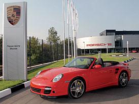 Porsche otevřelo novou filiálku v Moskvě