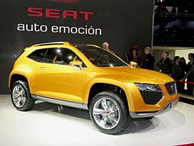 SEAT: Výroba SUV Tribu bude zahájena v roce 2009