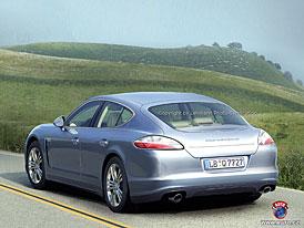Spy Photos: Porsche Panamera ve Španělsku (nové fotografie)