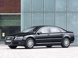Audi A8 Security: siln� a elegantn� bodyguard