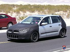 Spy Photos: Volkswagen Golf - šestá mezigenerace (nové video)