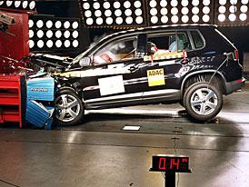 Euro NCAP: Volkswagen Tiguan má pět hvězd