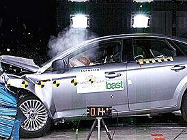 Euro NCAP: P�t hv�zd pro Ford Mondeo