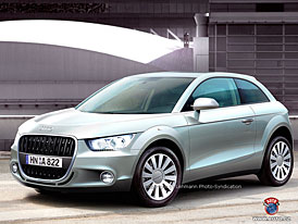 Spy Photos: Audi A1 - Made in Brusel