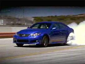 Video: Lexus IS-F, tichá síla? To určitě…