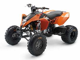 KTM 450XC a 525XC Quad: dvě oranžové čtyřkolky