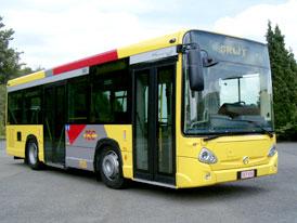 První autobus dle normy EEV dodala do Belgie skupina Irisbus Iveco