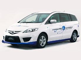 Mazda Premacy HRE Hybrid: Vodíkový Renesis v praktickém balení