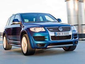 Volkswagen Touareg R50: oficiální informace a nové fotografie