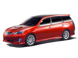 Subaru Exiga: koncept, jen� nazna�uje mnoh�