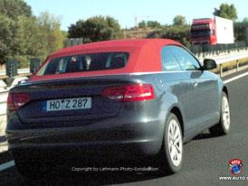 Spy Photos: Audi A3 Cabrio a A3 s inovovaným designem