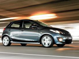 Mazda2 na českém trhu: úplný ceník má 7 stupňů výbav