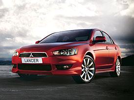 Mitsubishi Lancer v ČR: ceník začíná od 449.900,-Kč, výbava je bohatá