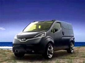 Video: Nissan NV200 – koncept stylové dodávky pro tokijský autosalon