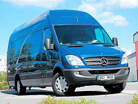 Mercedes-Benz Sprinter 315 CDI/XL - Dlouhý, vysoký a rychlý