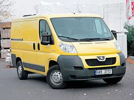 Peugeot Boxer 2. HDI 100 furgon - Městský běžec